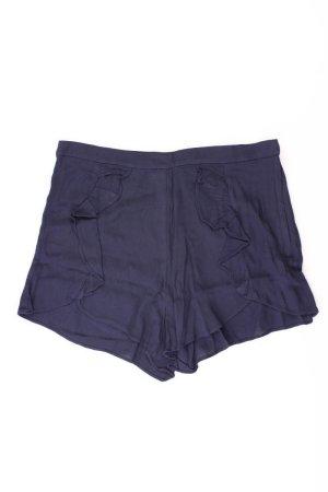 H&M Shorts Größe 42 blau aus Viskose