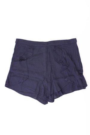 H&M Shorts blue-neon blue-dark blue-azure viscose