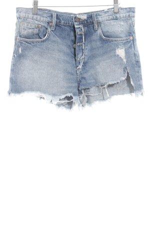 H&M Shorts hellblau-blau Casual-Look