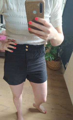 H&M Shorts Highwaist Paperbag