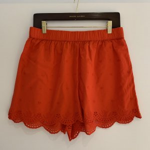 H&M Hot pants baksteenrood Katoen