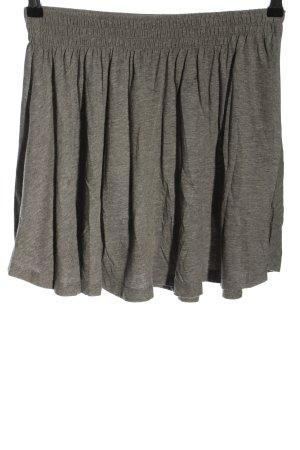 H&M Skaterska spódnica jasnoszary Melanżowy W stylu casual