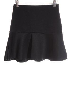 H&M Skaterska spódnica czarny W stylu casual