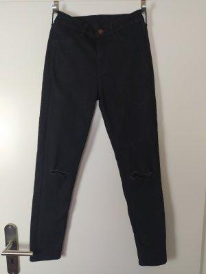 H&M Skinny Ankle Jeans schwarz W 26 wir Gr. 34
