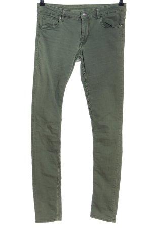 H&M Skinny Jeans khaki Casual-Look
