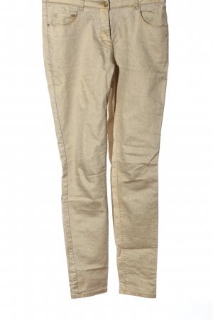 H&M Skinny Jeans goldfarben Casual-Look