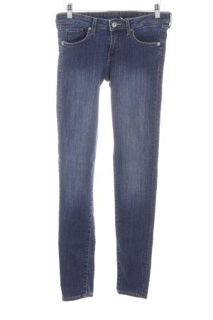 H&M Skinny Jeans blau Jeans-Optik