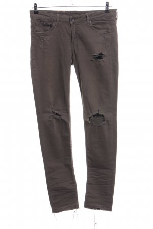 H&M Skinny Jeans braun Casual-Look