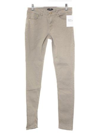 H&M Skinny Jeans beige Casual-Look