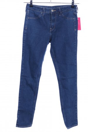 H&M Skinny Jeans blau Casual-Look