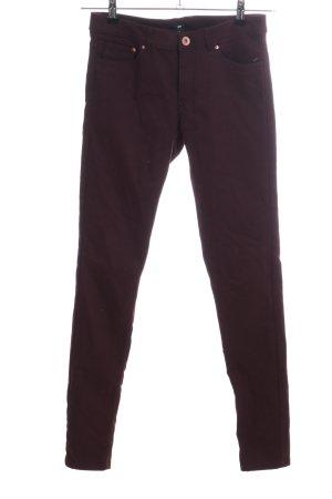 H&M Skinny Jeans braun Casual-Look