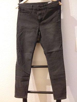 H&M Skinny Jeans dunkelgrau
