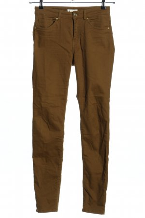 H&M Skinny Jeans bronzefarben Casual-Look
