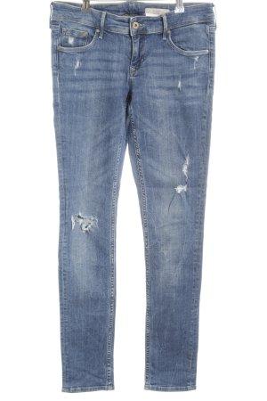 H&M Skinny Jeans graublau Casual-Look