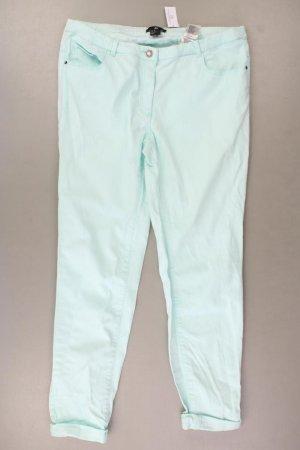 H&M Skinny Jeans Größe 40 türkis aus Baumwolle