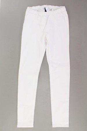 H&M Skinny Jeans Größe M weiß aus Baumwolle