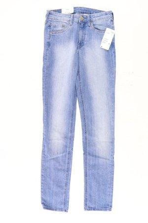 H&M Skinny Jeans Größe W28 neu mit Etikett blau aus Baumwolle