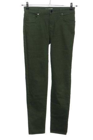 H&M Skinny Jeans grün Casual-Look