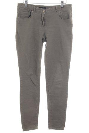 H&M Skinny Jeans grüngrau Casual-Look