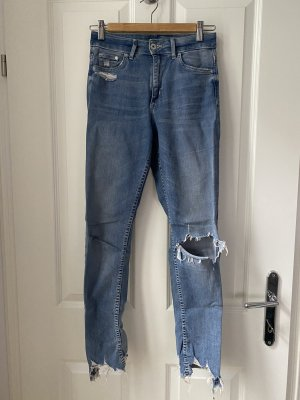 & DENIM Jeans skinny azzurro-blu acciaio