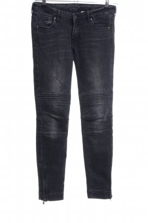 H&M Skinny jeans zwart casual uitstraling