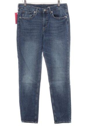 H&M Skinny Jeans stahlblau-himmelblau Casual-Look