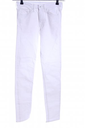 H&M Skinny Jeans weiß Casual-Look