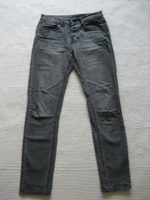 H&M skinny w28 L 30 jeans grau topzustand gr s 36
