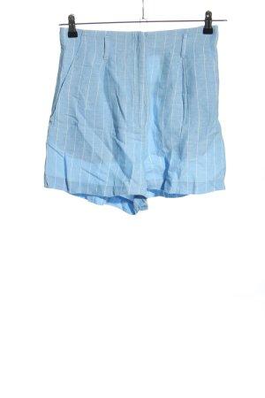 H&M Skorts blau-weiß Streifenmuster Casual-Look