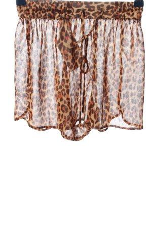 H&M Skort motif léopard style décontracté