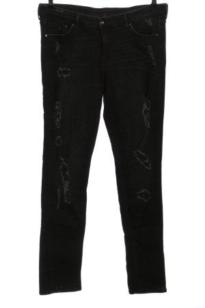 H&M Vaquero slim negro look casual