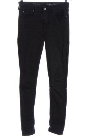 H&M Slim Jeans schwarz Casual-Look