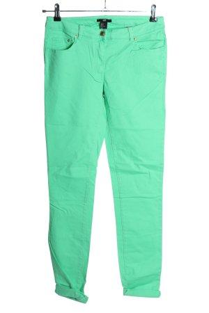 H&M Slim Jeans blassgelb Casual-Look