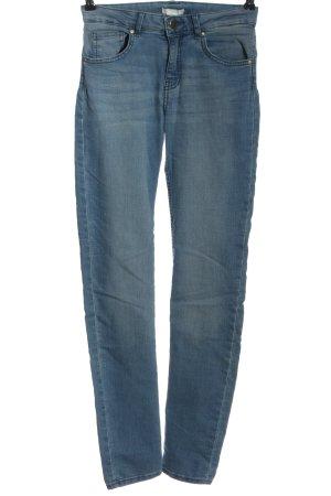 H&M Slim Jeans blau Casual-Look