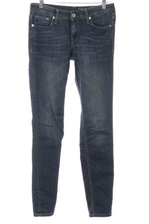 H&M Slim Jeans dunkelblau Casual-Look