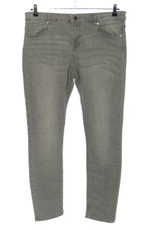 H&M Slim Jeans hellgrau Casual-Look