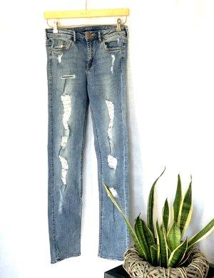H&M Boyfriend Jeans pale blue-azure