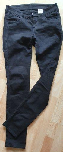 H&M Slim Jeans Hose schwarz Gr 28/32