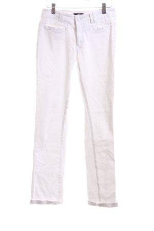 H&M Slim Jeans weiß Casual-Look