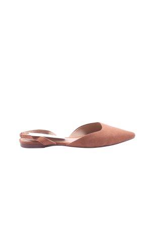 H&M Ballerina aperta sul tallone marrone stile casual