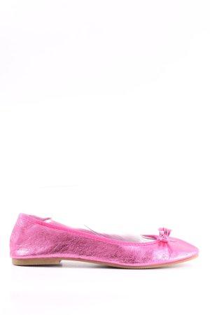 H&M Slingback ballerina's roze casual uitstraling