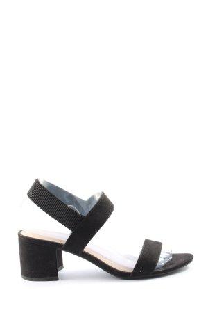 H&M Slingback pumps zwart casual uitstraling