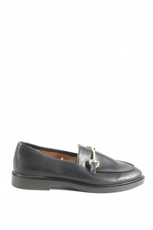 H&M Slipper schwarz Casual-Look