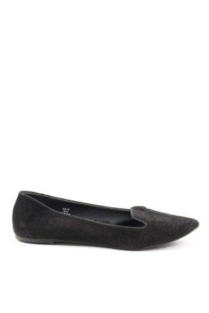 H&M Pantofel czarny W stylu casual