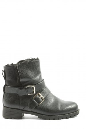 H&M Slouch Booties black casual look