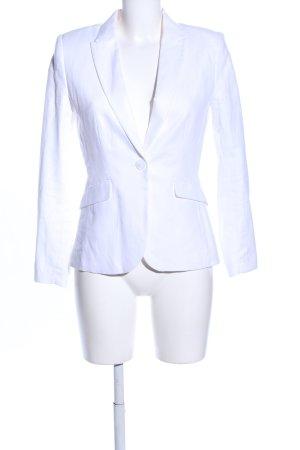 H&M Blazer de esmoquin blanco estilo «business»