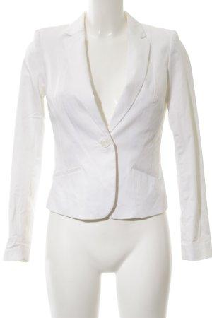H&M Veste de smoking blanc style d'affaires