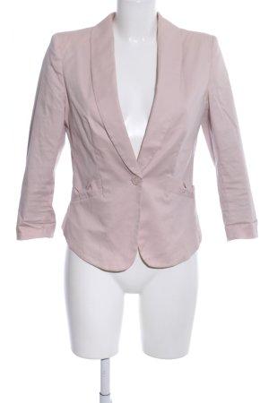 H&M Veste de smoking rose style décontracté