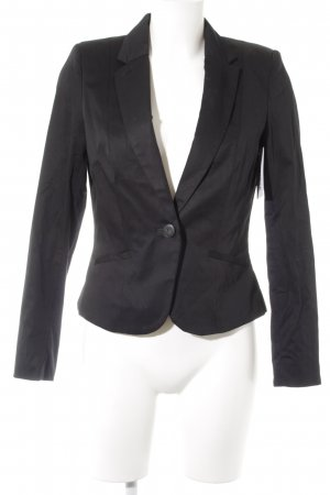 H&M Smoking-Blazer schwarz Business-Look