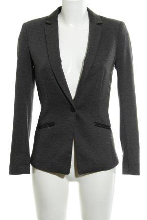 H&M Smoking-Blazer schwarz-dunkelgrau Elegant